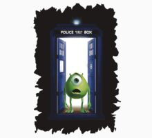 Tardis Monster inc T-Shirt