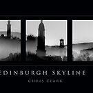 EDINBURGH SKYLINE by Chris Clark
