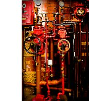 In case of fire... Photographic Print