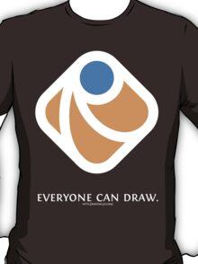 Everyone can draw (black) T-Shirt