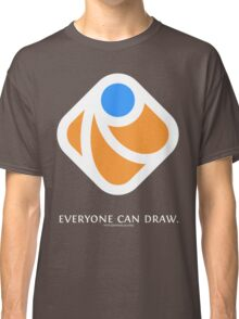 Everyone can draw (black) Classic T-Shirt