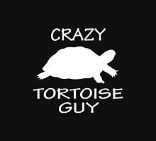 Crazy Tortoise Guy (White) Unisex T-Shirt