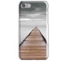 storm over the swan river iPhone Case/Skin