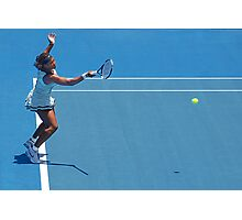 Return (Serena Williams) Photographic Print