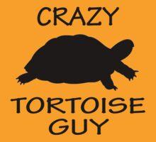 Crazy Tortoise Guy (Black) by Iceyuk