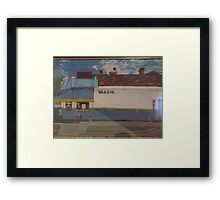 Hawthorn Milk Bar Framed Print