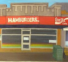 Hamburgers... by Joan Wild