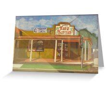 Corner Store Greeting Card