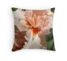 Peach Explosion Throw Pillow