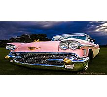 Pink Caddy  Photographic Print