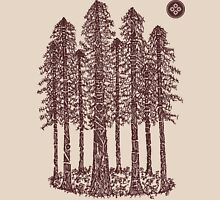 Cathedral Grove (Coastal Redwoods) Unisex T-Shirt