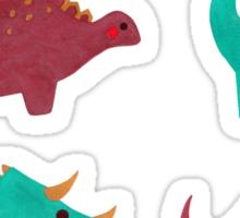 The Dinosaurs Pattern Sticker