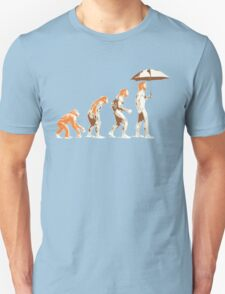 Ginger evolution Unisex T-Shirt