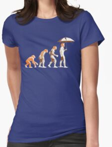 Ginger evolution Womens Fitted T-Shirt