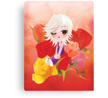 I've Been Kissed by a Rose Canvas Print