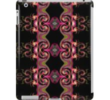 Black and Pink Spirals iPad Case/Skin