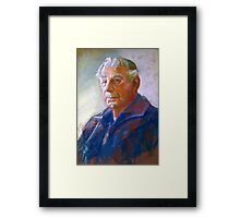 Portrait of Con Conning Framed Print