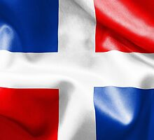 Dominican Republic Flag by MarkUK97