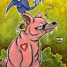 The PigBear Blues by Craig Medeiros