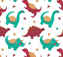 The Dinosaurs Pattern by haidishabrina