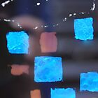 Abstract Blue by jenenever