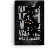 A Skull from the Skies Canvas Print