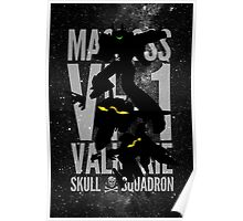 A Skull from the Skies Poster