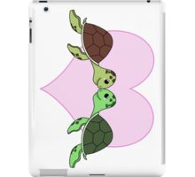 Love turtles iPad Case/Skin