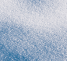 Textured snow abstract in blue Sticker