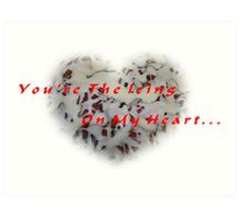 Your The Icing On My Heart Valentine Art Print