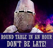 Round table in an hour, don't be late! by luckypixel