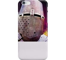 Knight - free space for your text iPhone Case/Skin