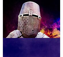 Knight - free space for your text Photographic Print