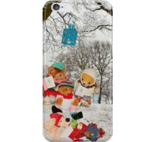 The carol singers iPhone Case/Skin