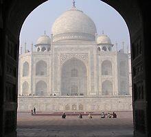 Taj Mahal by Christie Harvey