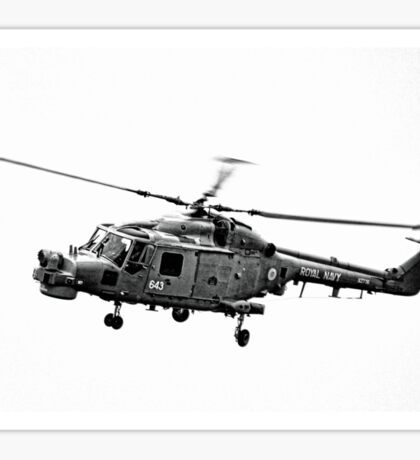 Royal Navy Helicopter........... Sticker