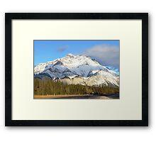 Heading For Banff Framed Print