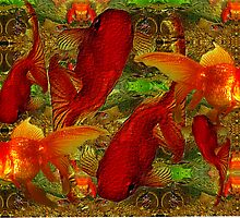 Goldfish group by Marilyn Baldey