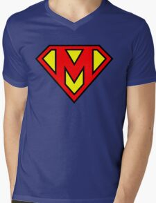 Super M Mens V-Neck T-Shirt