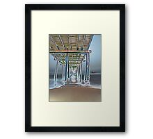 on voyage Framed Print