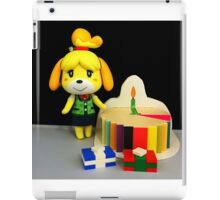 Isabelle Birthday iPad Case/Skin