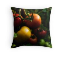 Home Grown Tomatoes Throw Pillow
