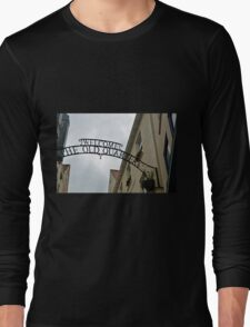 Welcome Sign............. Long Sleeve T-Shirt