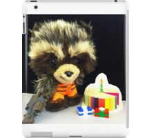 Rocket Raccoon Birthday iPad Case/Skin
