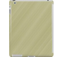 Gold Stripes Aplenty iPad Case/Skin