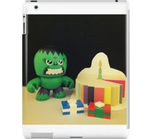 Hulk Birthday iPad Case/Skin