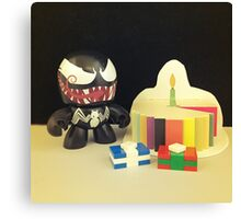Venom Birthday Canvas Print