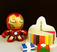 Iron Man Birthday by FendekNaughton
