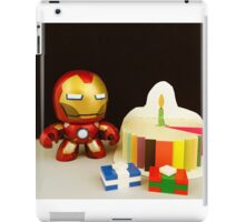 Iron Man Birthday iPad Case/Skin
