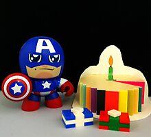 Captain America Birthday by FendekNaughton